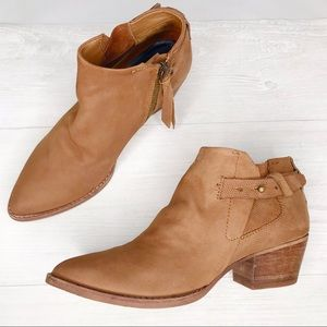 Dolce Vita | Suede Leather Ankle Booties Sz. 6.5